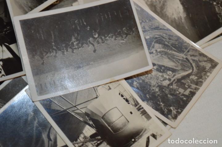 Coleccionismo Cromos antiguos: ZEPPELIN-Weltfahrten / Lote antiguo de 60 cromos alemanes - Dirigibles Zeppelín / Años 30 - Lote 04 - Foto 15 - 222708846