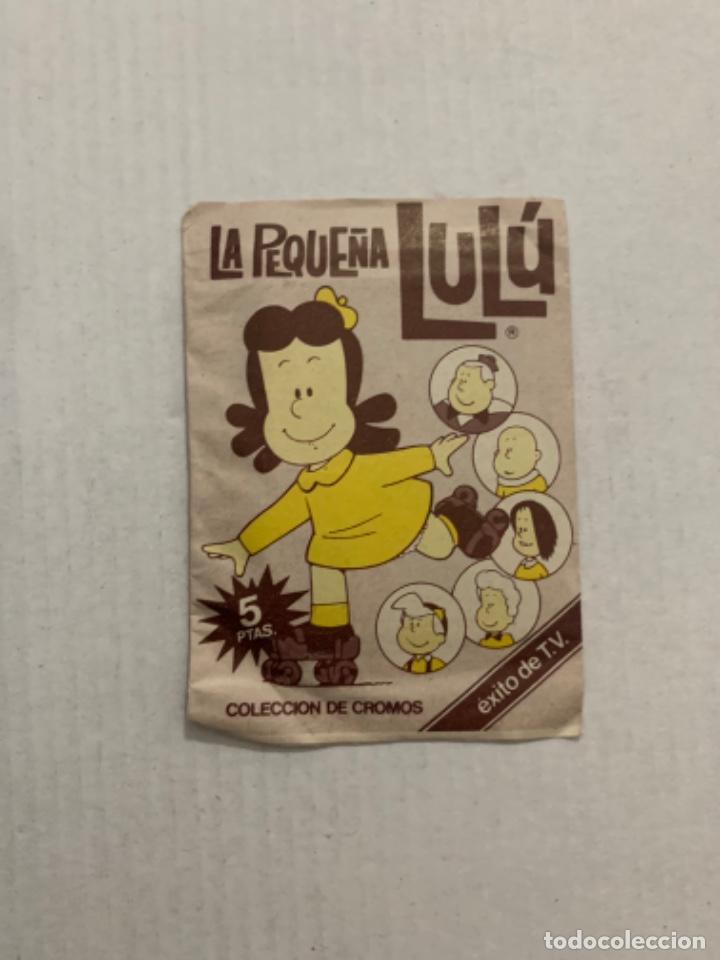 SOBRE SIN ABRIR DE CROMOS LA PEQUEÑA LULU (Coleccionismo - Cromos y Álbumes - Cromos Antiguos)