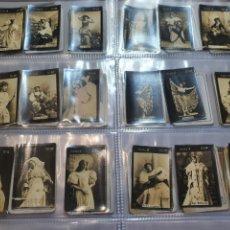 Coleccionismo Cromos antiguos: 18 CROMOS FOTOTIPIAS SERIE 3. Lote 223746252