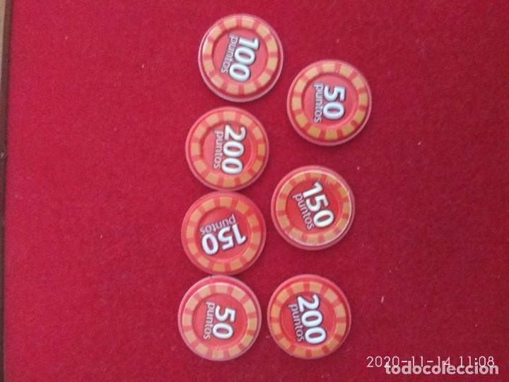 Coleccionismo Cromos antiguos: Grefu disco color rojo. Megadisco. , Travieso, enfadado,enfermo fiestero, Santo,risa. 50,100,200 pun - Foto 2 - 224577222