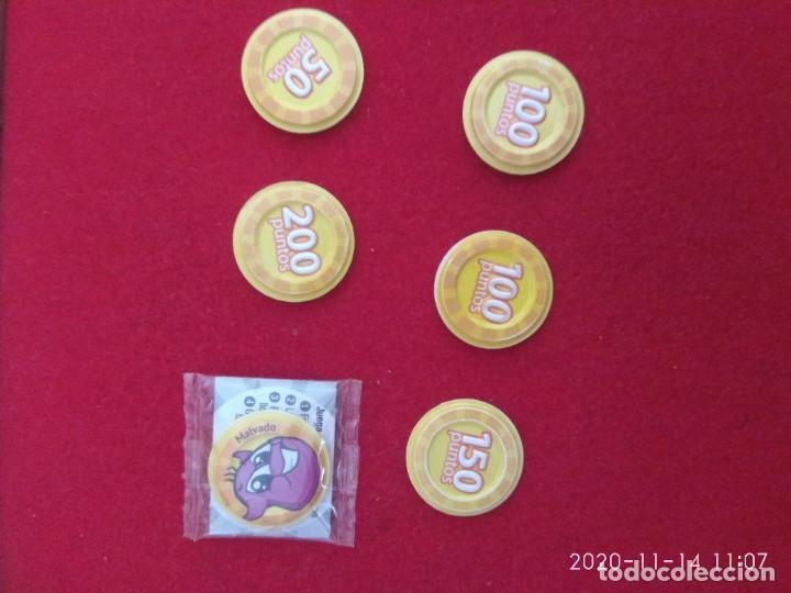 Coleccionismo Cromos antiguos: Grefu disco color amarillo. Megadisco. Malvado,mudo,vómito vacilón no ok, Superstar, 50,150,100 pun - Foto 2 - 224577680