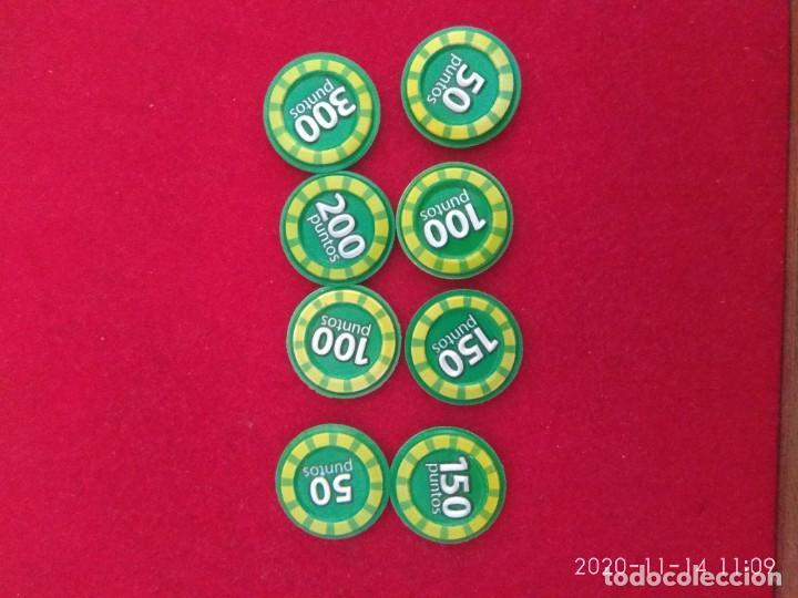 Coleccionismo Cromos antiguos: Grefu disco color verde. Megadisco. Enamorado,congelado,triste,disimulo, victoria,100,200 ,300 punto - Foto 2 - 224578216