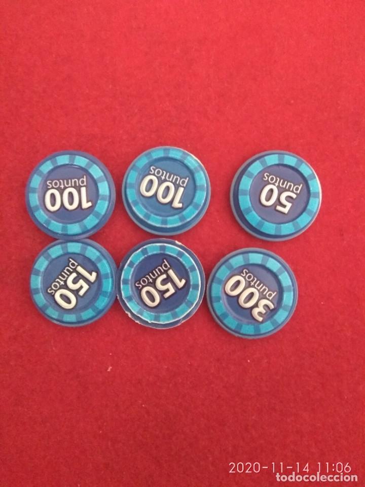 Coleccionismo Cromos antiguos: Grefu disco color azul. Megadisco.beso, inspector, sabroso, flipado 100 ,150 ,300 puntos - Foto 2 - 224578650