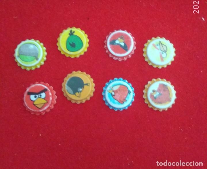 Coleccionismo Cromos antiguos: Cromos tazos grefusa , chapas grefusa angry birds - Foto 2 - 224581095