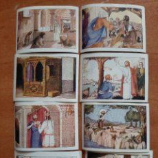 Coleccionismo Cromos antiguos: CROMOS ANTIGUOS : ALBUM CATECISME - PENITENCIA : 8 CROMOS / EN CATALÁN. Lote 224690742