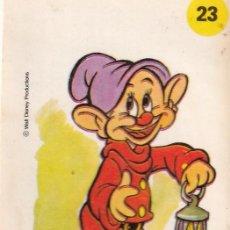 Coleccionismo Cromos antiguos: CROMO BIMBO PANRICO PLASTICROMO N° 23 MIDITO - LOS AMIGOS DE MICKEY 1979. Lote 224949546
