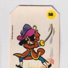 Coleccionismo Cromos antiguos: CROMO BIMBO PANRICO PLASTICROMO N° 56 CAPITAN G - LOS AMIGOS DE MICKEY 1979 SERIE CORTADO PARTE ALTA. Lote 224953995
