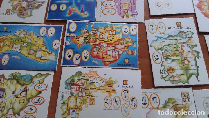 COLECCIÓN COMPLETA DE 42 CROMOS DE COMARCAS DE BARCELONA (Coleccionismo - Cromos y Álbumes - Cromos Antiguos)