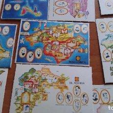 Coleccionismo Cromos antiguos: COLECCIÓN COMPLETA DE 42 CROMOS DE COMARCAS DE BARCELONA. Lote 225238396