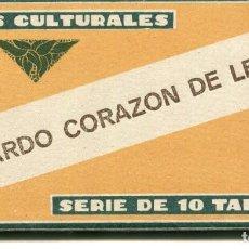 Coleccionismo Cromos antiguos: LOTE 10 CROMOS CULTURALES RICARDO CORAZÓN DE LEÓN Nº 26 BARSAL. Lote 225471685