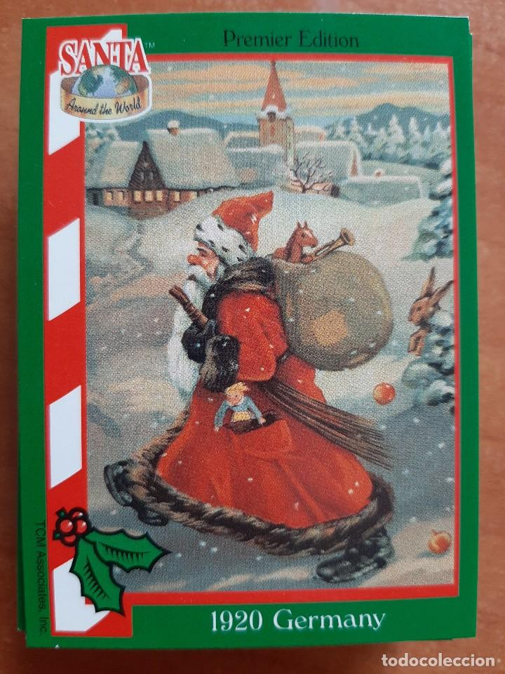 SANTA AROUND THE WORLD - 1920 GERMANY (Coleccionismo - Cromos y Álbumes - Cromos Antiguos)