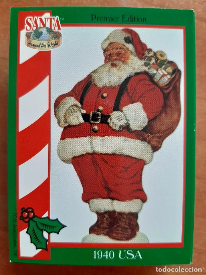 Coleccionismo Cromos antiguos: SANTA AROUND THE WORLD - 1940 USA - Foto 1 - 225816870