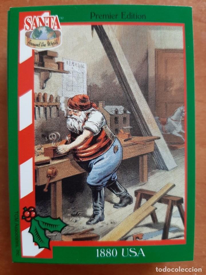SANTA AROUND THE WORLD - 1880 USA (Coleccionismo - Cromos y Álbumes - Cromos Antiguos)