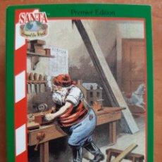 Coleccionismo Cromos antiguos: SANTA AROUND THE WORLD - 1880 USA. Lote 225826075