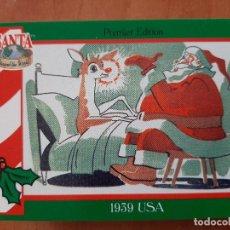 Coleccionismo Cromos antiguos: SANTA AROUND THE WORLD - 1939 USA. Lote 225826580