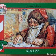 Coleccionismo Cromos antiguos: SANTA AROUND THE WORLD - USA 1890. Lote 225829483