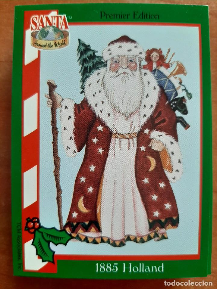 SANTA AROUND THE WORLD - 1885 HOLLAND (Coleccionismo - Cromos y Álbumes - Cromos Antiguos)