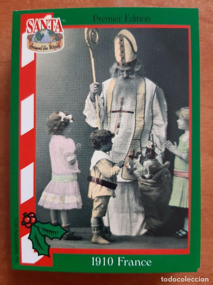 SANTA AROUND THE WORLD - 1910 FRANCE (Coleccionismo - Cromos y Álbumes - Cromos Antiguos)