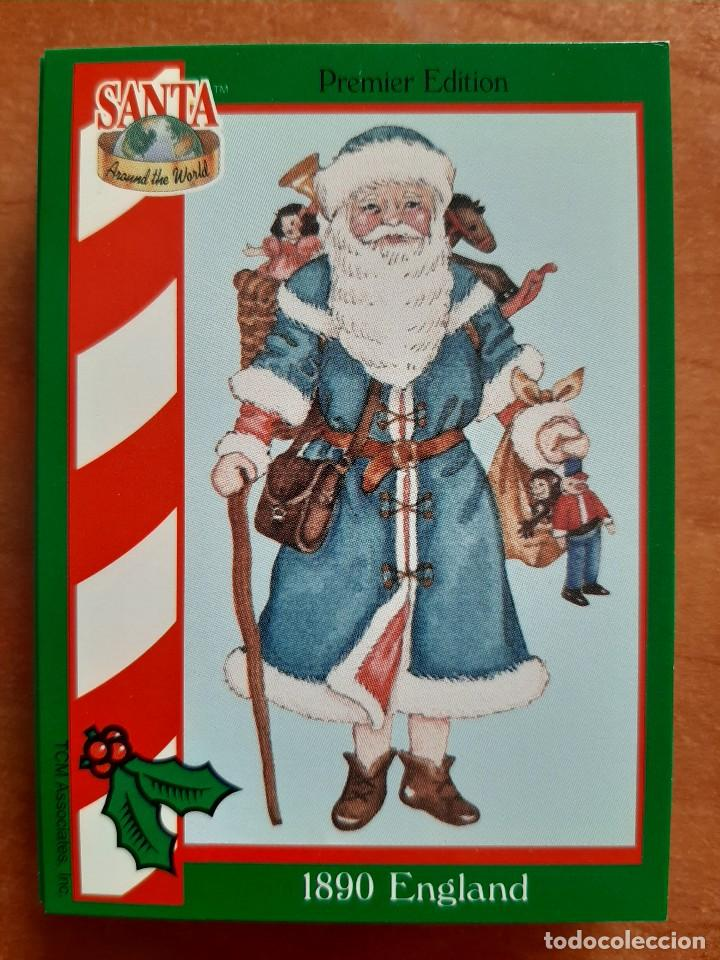 SANTA AROUND THE WORLD - 1890 ENGLAND (Coleccionismo - Cromos y Álbumes - Cromos Antiguos)