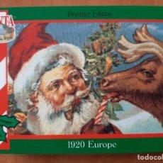 Coleccionismo Cromos antiguos: SANTA AROUND THE WORLD - 1920 EUROPE. Lote 225832807