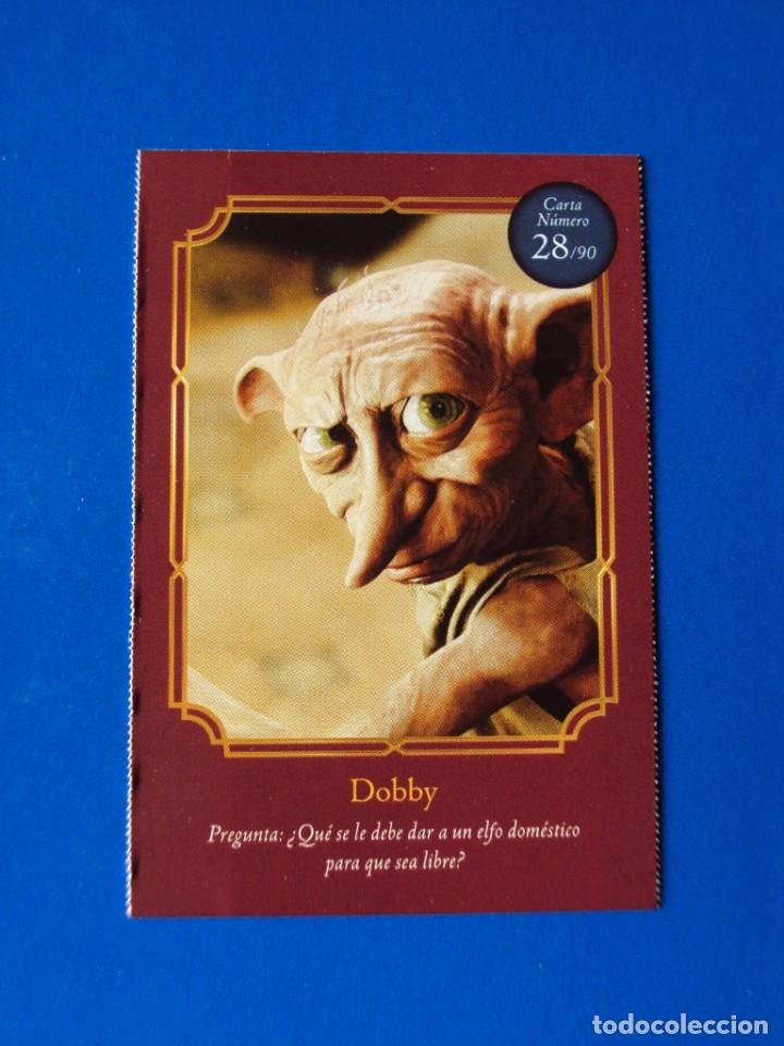 Coleccionismo Cromos antiguos: HARRY POTTER WIZARDING WORLD NUMERO 28 DOBBY CARREFOUR 2020 - Foto 1 - 225929685