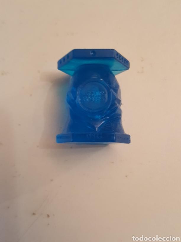 Coleccionismo Cromos antiguos: Figura Abaton panini Abatons star Wars Ben Kenobi azul cristal - Foto 2 - 226137955