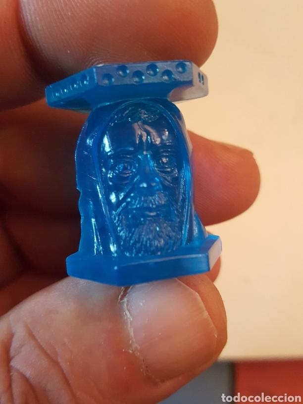 Coleccionismo Cromos antiguos: Figura Abaton panini Abatons star Wars Ben Kenobi azul cristal - Foto 3 - 226137955