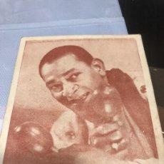 Coleccionismo Cromos antiguos: FOTO EN CROMO DE ANTONIO MACHIN CON SUS MARACAS Y DETRAS ESCRITA LA CANCION DE MADRECITAS. Lote 227090075