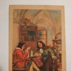 Coleccionismo Cromos antiguos: HISTORIA DEL CACAO Y DEL CHOCOLATE Nº 19 .- CHOCOLATES BUBI COMPAÑIA COLONIAL DE AFRICA. Lote 228208025
