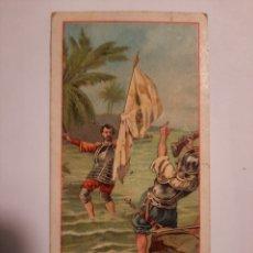 Coleccionismo Cromos antiguos: CRISTOBAL COLON Nº 2 / COLECCION CHOCOLATE JUNCOSA. Lote 228212075