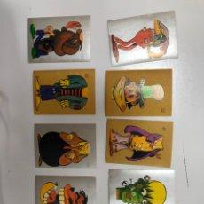 Coleccionismo Cromos antiguos: LOTE 10 CROMOS DIBUJOS DE JAN SUPERLOPEZ SUPER LOPEZ PUNKY 2000 HIPPY. Lote 229510610