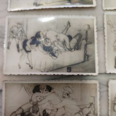 Coleccionismo Cromos antiguos: FOTO CROMOS ERÓTICOS AÑOS 30 SERIE COMPLETA. Lote 229673275