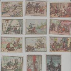 Coleccionismo Cromos antiguos: LOTE DE CROMOS ANTIGUOS DON QUIJOTE CHOCOLATES LLOVERAS. Lote 231016205