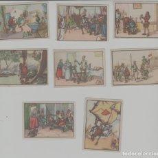 Coleccionismo Cromos antiguos: LOTE DE CROMOS ANTIGUOS DON QUIJOTE. Lote 231016290