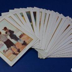 Coleccionismo Cromos antiguos: ROBINSON CRUSOE, COLECCIÓN COMPLETA 24 CROMOS, CHOCOLATES JUNCOSA, BARCELONA, ORIGINAL AÑOS 40.. Lote 231080940