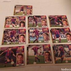 Coleccionismo Cromos antiguos: CROMOS FÚTBOL FC BARCELONA 97/98 EDICIONES ESTE. Lote 231543045