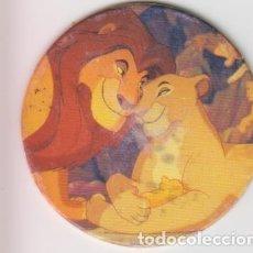 Colecionismo Cromos antigos: TAZO 4 EL REY LEON IL RE LEONE DISNEY PANINI CAPS POGS. Lote 231784845