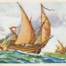 Coleccionismo Cromos antiguos: CROMO MARINA DE GUERRA SERIE 1ª Nº 27 CHOCOLATES LLOVERAS SAETIA CATALANA. Lote 218557626