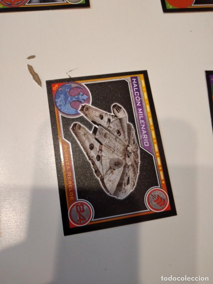 Coleccionismo Cromos antiguos: C-JOM IMPRESIONANTE LOTE DE UNOS 240 CROMOS DE STAR WARS LOS DE FOTO - Foto 33 - 233938385