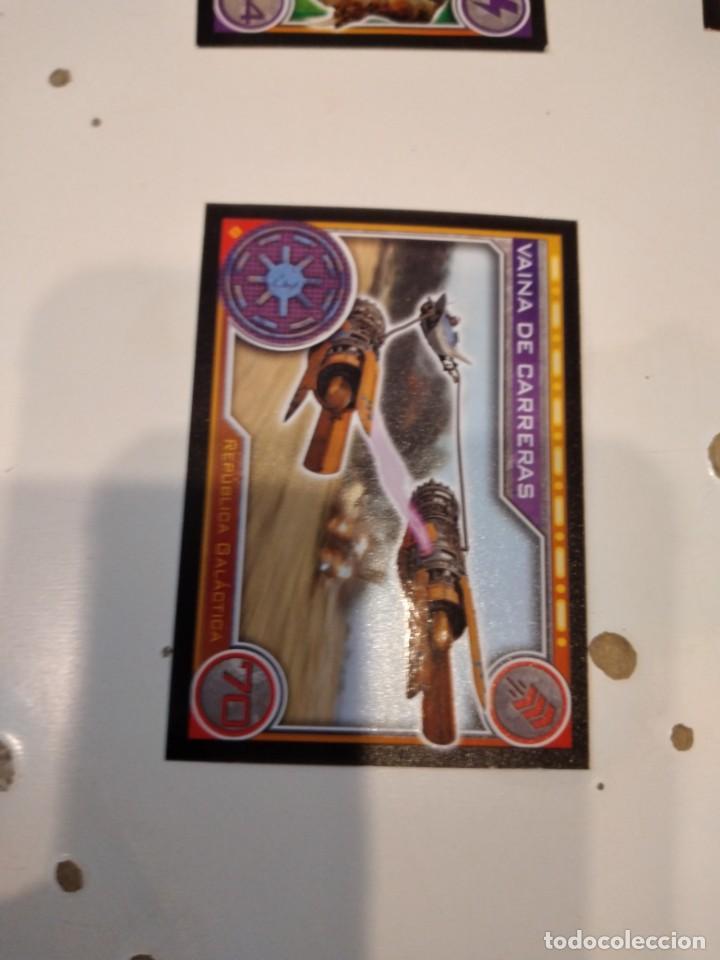 Coleccionismo Cromos antiguos: C-JOM IMPRESIONANTE LOTE DE UNOS 240 CROMOS DE STAR WARS LOS DE FOTO - Foto 51 - 233938385