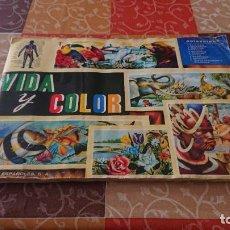 Coleccionismo Cromos antiguos: VIDA Y COLOR ÁLBUM COMPLETO. Lote 234366965