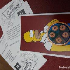 Coleccionismo Cromos antiguos: NUMERO 92 LOS SIMPSONS 2000 00 SPRINGFIELD II HOMER LISA BART. Lote 234763400