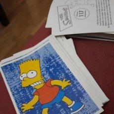 Coleccionismo Cromos antiguos: NUMERO 117 LOS SIMPSONS 2000 00 SPRINGFIELD II HOMER LISA BART. Lote 234763945