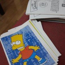 Coleccionismo Cromos antiguos: NUMERO 117 LOS SIMPSONS 2000 00 SPRINGFIELD II HOMER LISA BART. Lote 234763970