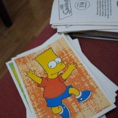 Coleccionismo Cromos antiguos: NUMERO 116 LOS SIMPSONS 2000 00 SPRINGFIELD II HOMER LISA BART. Lote 234764155