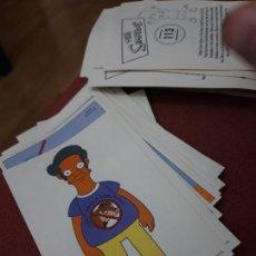 Coleccionismo Cromos antiguos: NUMERO 113 LOS SIMPSONS 2000 00 SPRINGFIELD II HOMER LISA BART. Lote 234764360