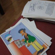 Coleccionismo Cromos antiguos: NUMERO 112 LOS SIMPSONS 2000 00 SPRINGFIELD II HOMER LISA BART. Lote 234764410