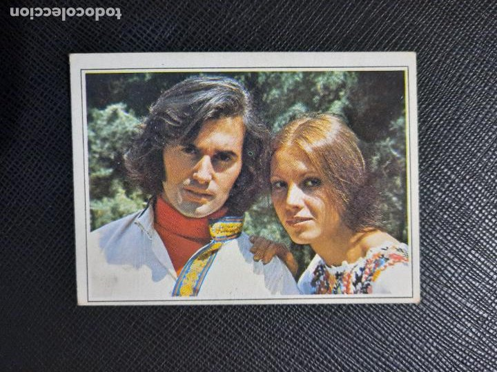 VICTOR MANUEL Y ANA BELEN ESTE TELE POP PAREJAS FAMOSAS CROMO - SIN PEGAR - 205 (Coleccionismo - Cromos y Álbumes - Cromos Antiguos)