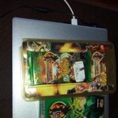 Coleccionismo Cromos antiguos: BANDAI DRAGONBALL TRADING CARD 8 BLISTERS Y JUEGOS CARTAS 34, TODO SIN ABRIR. Lote 235795735