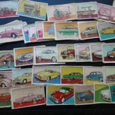 Coleccionismo Cromos antiguos: LOTE DE MAS DE 125 CRLMOS AUTO AL DIA, BRUGUERA 1954. Lote 235904490